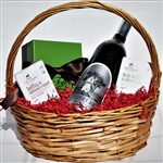 Silver Oak and Chocolate Basket